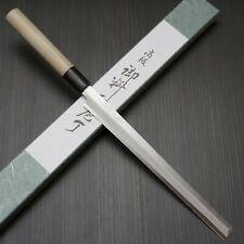 Japanese Tojiro White Steel SHIROGAMI Takohiki Tako Sashimi Knife 240mm Sushi
