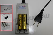 2 PILES ACCUS RECHARGEABLE 18650 3.7V 8800mAh + CHARGEUR TR-001 TRUSTFIRE