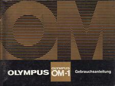 Olympus Bedienungsanleitung für Olympus OM-1 - Anleitung