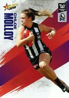 ✺New✺ 2019 COLLINGWOOD MAGPIES AFLW Card CHLOE MOLLOY Footy Stars