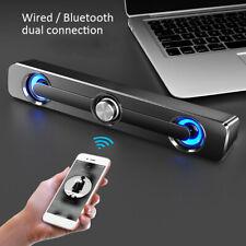 Mini Wired USB Powerful Stereo Laptop Tablet Speakers Bluetooth Loudspeaker Eage