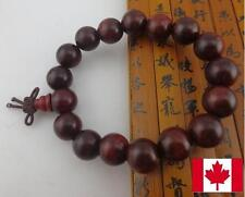 12MM  Wood Beads SHAMBALLA WOOD BRACELET stretch handmade jewelry mens  women