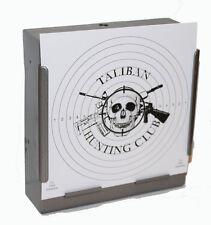 100 Air Rifle Shooting Paper TALIBAN HUNTING CLUB Targets 14cm Pistol ( 100gsm