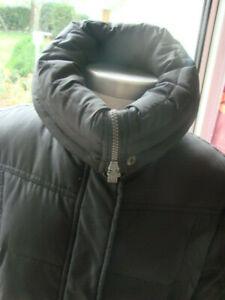 manteau parka noir XL (ESPRIT) long  duvet soit 46/48 voir mesures BE très chaud