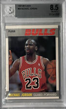 Michael Jordan 1987-88 Fleer Card #59 Beckett 8.5