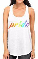 Junior/'s Rainbow Palm Springs KT T153 Racerback Tank Top Gay Lesbian LGBT Cali