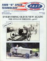 """Hot for F.A.S.T. Hot Fours - FORD """"A"""" Speed Technology 4rd 2003 Hot Rods"""