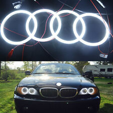 Angel Eye Halo Ring Light BMW E46 3 Series Blanco 2D 2 Door Coupe 2DR Facelift