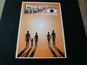ETERNITY ISSUE NO 1 1992 UK RAVE CULTURE ACID HOUSE DANCE MUSIC FANZINE MAGAZINE