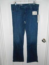 Design Lab denim jeans blue dark wash bootcut low rise NWT orig $98 sz 31