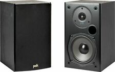 Polk Audio T15 100 Watt Home Theater Bookshelf Speakers (Pair) | Dolby and DT...
