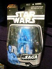 FIGURINES STAR WARS SAGA CLONE Commandant Cody/Dooku HOLOGRAMME HASBRO 2006 TOY