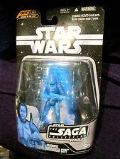 Star Wars figures Saga CLONE COMMANDER CODY / Dooku hologram hasbro 2006 toy