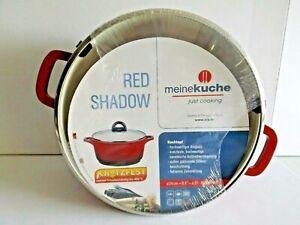 ELO Red Shadow - Kochtopf 24cm ca.4,0Liter (alle Herdarten/auch Induktion)