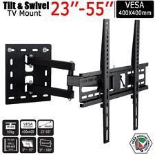 Cantilever Arm Tilt Swivel TV Wall Bracket For 23-50 Inch LCD LED 4K Flat Screen