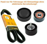 Keilrippenriemen-Satz Spannrolle Umlenkrolle BMW E81 82 87 88 90 92 93