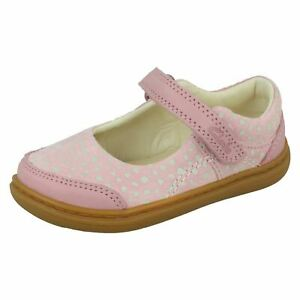 Girls Clarks Casual Shoes 'Flash Bright'
