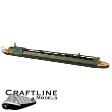 Modelli Craftline ahd70-Carbone Narrow Boat BALSA legno KIT OO Gauge / 4mm