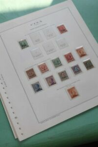 ITALY China Post Office MH MNH Certificates INVESTMENT Stamp Collection