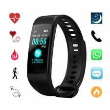 Pedometer Bluetooth Smart Watch Activity Tracker Health For Android/IOS Phone UK