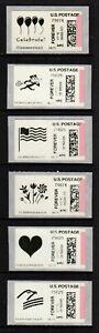 APC / CVP / ATM - USA #CVP86 (6x black & white designs), singles