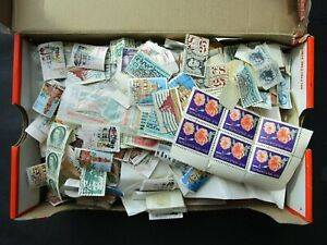 ESTATE: World Stamps Collection in Box, Great Item! (b541)