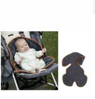 New Sunshine Kids Soft Ride Comfort Car Seat/Buggy Cushion Liner Grey & Orange