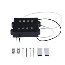 Noiseless Sealed Humbucker Pickup Für 6 Saitige Bassgitarre