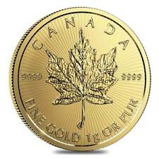 2020 1 gram Canadian Gold Maple Maplegram25  .9999 Fine IN ASSAY from 777
