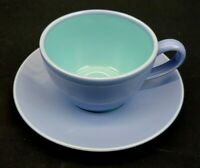 Lindt Stymeist Colorways China Cup and Saucer Blue and Turquoise