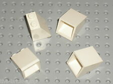LEGO White slope brick ref 3678 / Set 10019 7163 7931 4490 7153 10195 65153 4704