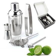Manhattan Stainless Steel 5 Piece Cocktail Shaker Drinks Bar Set UK Sold
