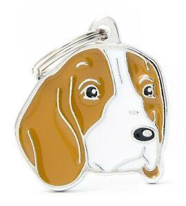 Beagle Dog ID Tag  (04N) -  Engraved FREE - Personalised Identity - Charm