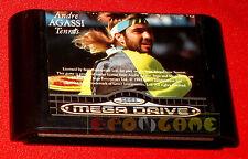 ANDRE AGASSI TENNIS Sega Mega Drive Versione Europea PAL ○ SOLO CARTUCCIA - E3