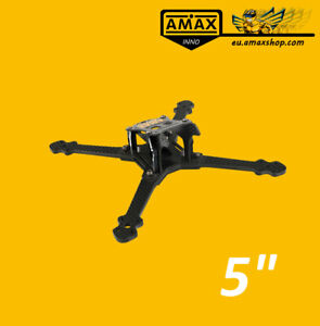 AMAXinno R5E 200mm 5'' Zoll Carbon Rahmen Frame FPV Racing Drone Racer Quad