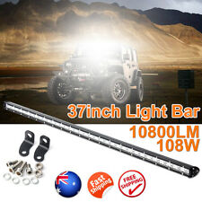 37inch 108W SLIM LED Light Bar Work COMBO Beam Truck ATV SUV 4WD Car 12V