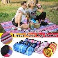 Outdoor Foldable Waterproof Beach Picnic Mat Blanket Camping Travel 59''x78''