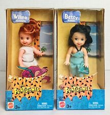 MATTEL Barbie KELLY DOLL CLOTHES FLINTSTONES BETTY RUBBLE DRESS NEW FROM BOX