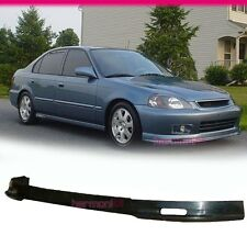 FOR 96-98 HONDA CIVIC MUGEN  FRONT BUMPER LIP SPOILER BODYKIT URETHANE BLACK
