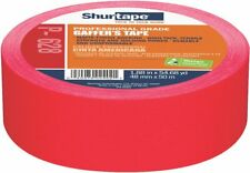 Shurtape P-628 Professional Grade, Coated Gaffer's Tape, 48mm x 50m, Red, 1 Roll