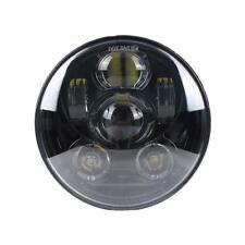 "5.75 INCH BLACK PROJECTION DAYMAKER LED LIGHT BULB HEADLIGHT for Harley 5.75"""