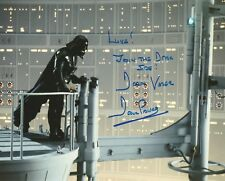 Dave Prowse Vader Star Wars Luke Join the Dark Side longquote hand signed photo