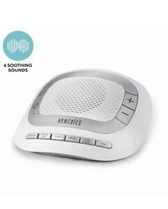 HoMedics SoundSpa Rejuvenate Soothing Sounds Auto-off White Noise Help IR40