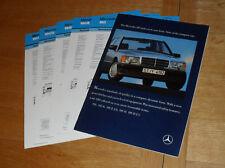 Mercedes 190 Car Brochure 1989-1990 - 190 190E 2.6 - 190D 2.0 2.5 inc UK Specs