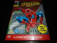 the Complete collection Spider-man dvd  21 hours of action from the 1994 series