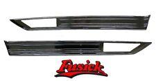 1970 1971 Olds Cutlass Supreme & SX Rear  Quarter Side Marker Molding Set 70 71