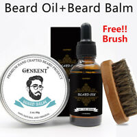 Beard Oil+Beard Conditioner Beard Balm Free Beard Brush