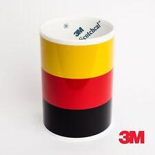3M Germany flag racing stripe for BMW M3 Porsche VW Mini Audi car decal sticker