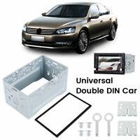 2 DIN Doppel Din Metall Rahmen Einbauschacht Radioblende Einbaurahmen Autoradio