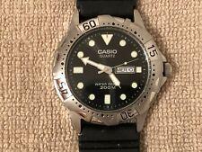 Men's Casio Diver Watch - Stainless Steel / WR200/Rotating Bezel/ MTD-1001